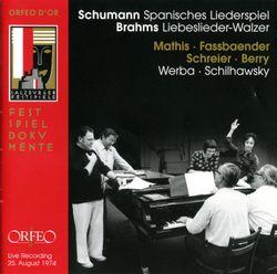 10 Spanisches Liederspiel op 74 : 9. Ich bin geliebt - pour quatuor vocal et piano - EDITH MATHIS