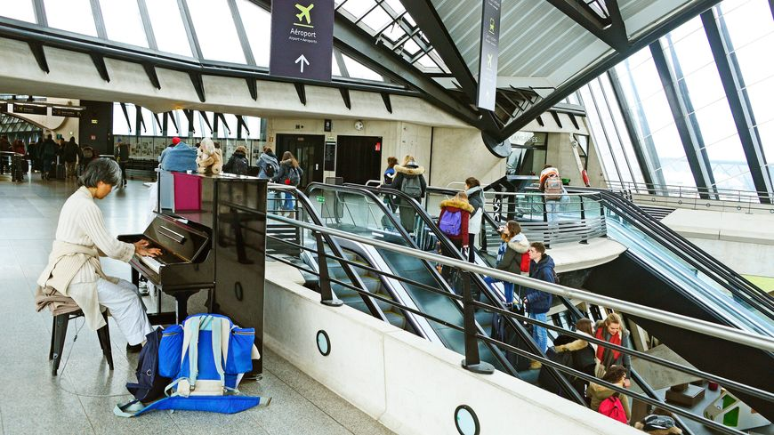 Piano dans une gare (photo d'illustration).