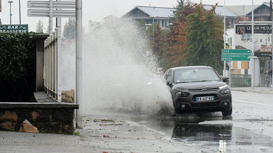 illustration de la pluie