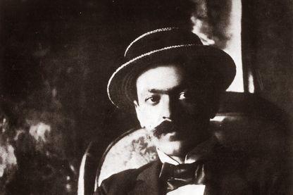 Portrait de l'écrivain, Italo Svevo - 1893.