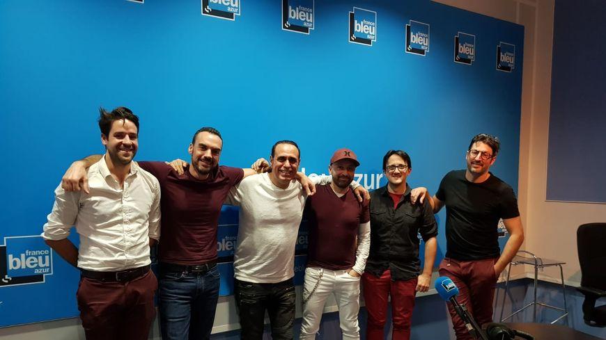 Le groupe 7 Sundays avec Adrien Mangano