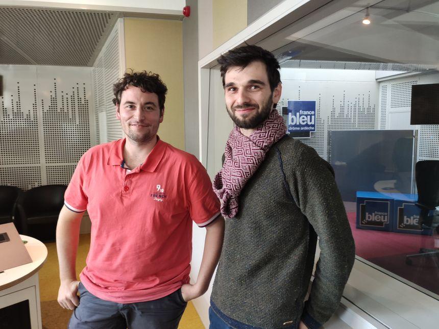 Matthieu Petit et Julien Laporte