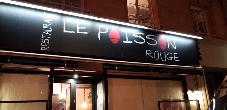"""Le restaurant """"Le Poisson Rouge"""" à Caen"""