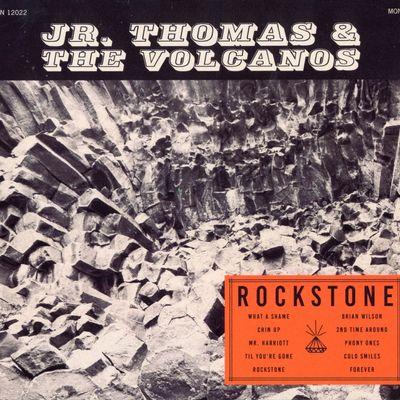 """Pochette de l'album """"Rockstone"""" par Jr. Thomas & The Volcanos"""