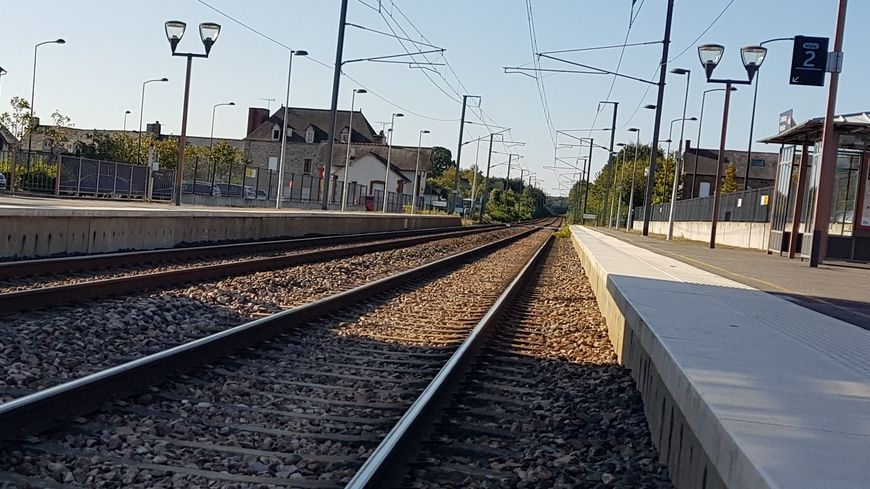 Voies de chemin de fer.