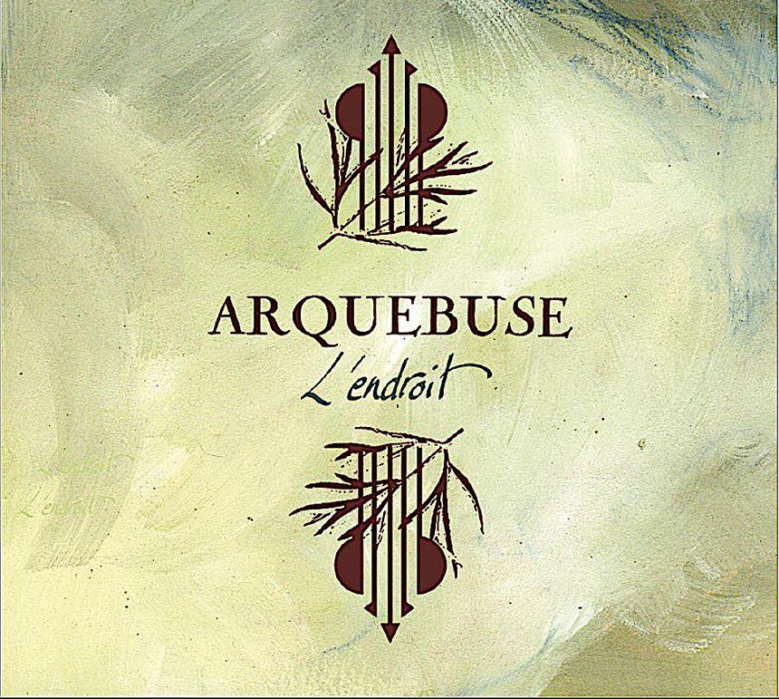 L'endroit, le nouveau CD d'Arquebuse - Pochette du CD