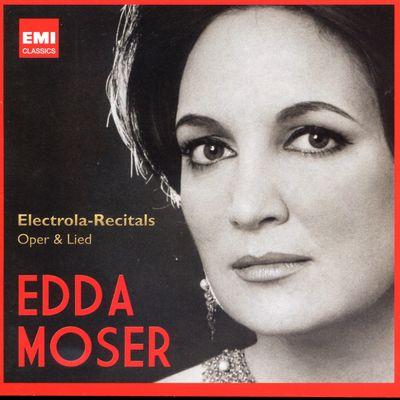 EDDA MOSER  LEONARD HOKANSON  PETER SCHREIER sur France Musique