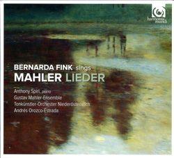 Lieder eines fahrenden Gesellen : Die zwei blauen Augen - réduction pour mezzo-soprano et ensemble instrumental - BERNARDA FINK