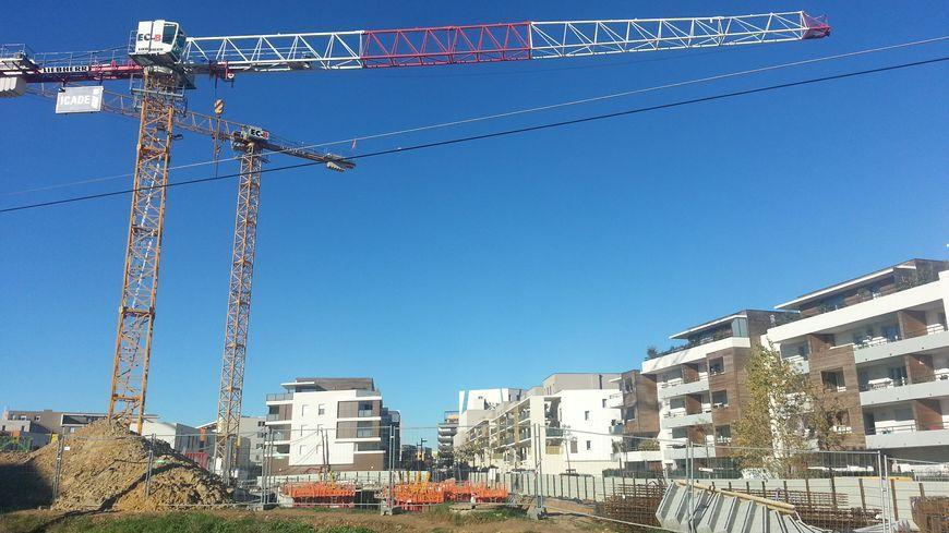 La construction des 900 premiers logements sur le quartier des maraîchers à Dijon