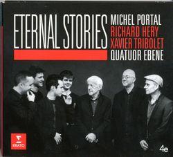 Eternal story - pour clarinette basse quatuor à cordes claviers et batterie - Michel Portal