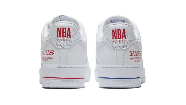 air force 1 nba rouge