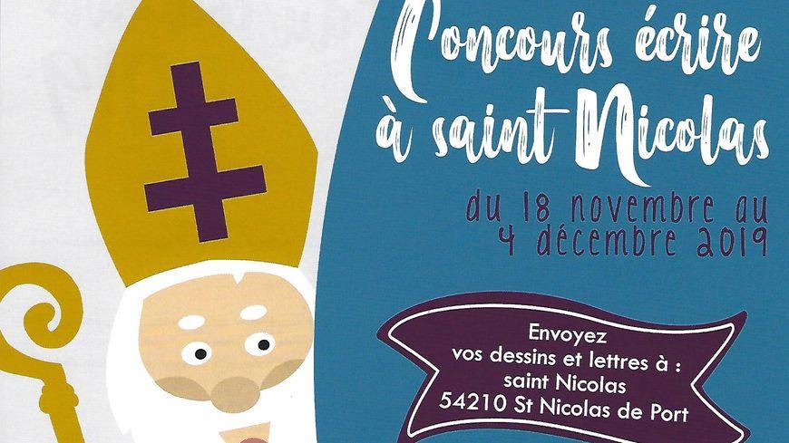 Concours écrire à Saint Nicolas