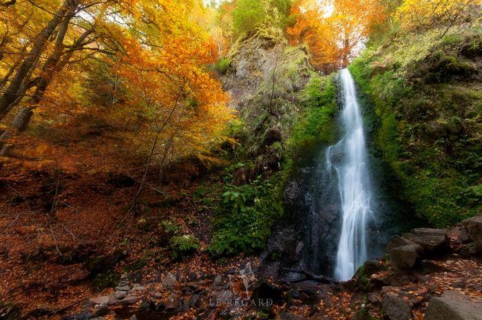 Couleurs d'automne à la vallée de Chaudefour