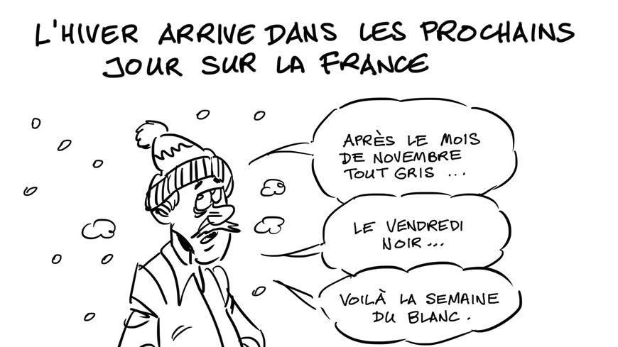 L'hiver arrive dans les prochains jours sur la France