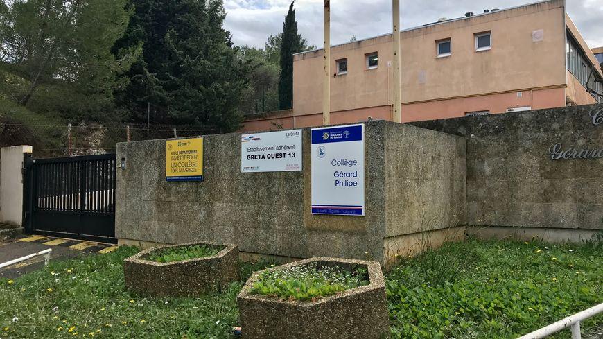 La bombe artisanale a explosé dans les toilettes du collège Gérard Philipe à Martigues