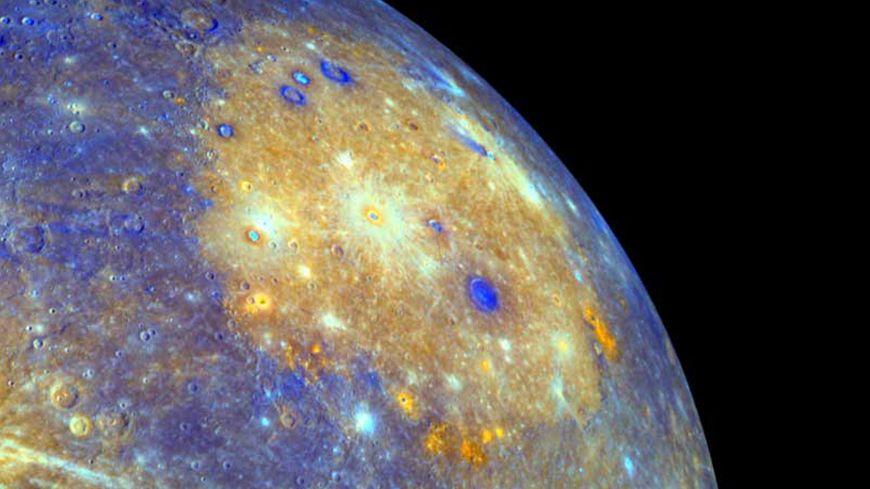 La sonde américaine Messenger avait capté des images de Mercure
