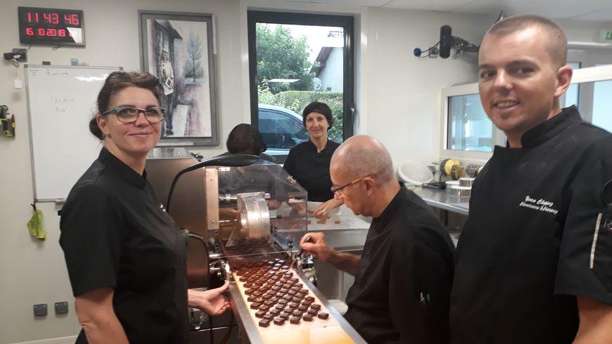 Chocolaterie Chappaz à Saint Laurent du Pont