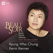 Beau soir L 84 - arrangement pour violon et piano - KYUNG WHA CHUNG