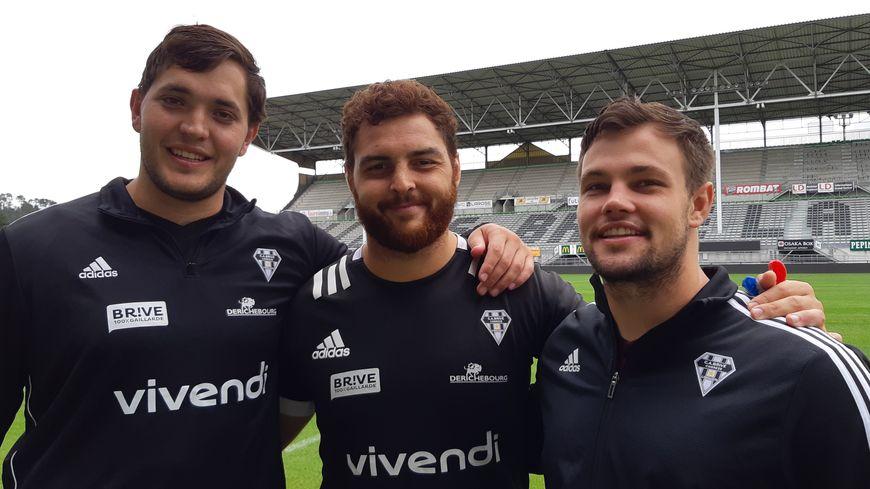 Jan Uys, Cody Thomas et Nico Lee vont suivre avec attention la finale de la coupe du Monde de rugby