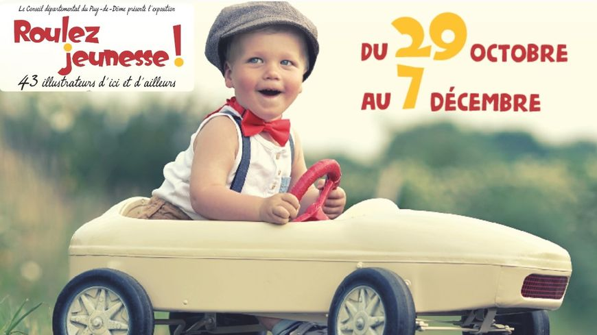 Roulez jeunesse une exposition à découvrir à Clermont-Ferrand