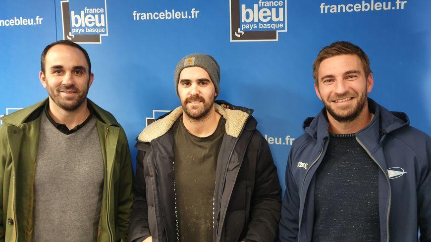 Belle brochette d'invités : Julien Peyrelongue, Nicolas Arrossamena de l'Hormadi et Benjamin Thiéry