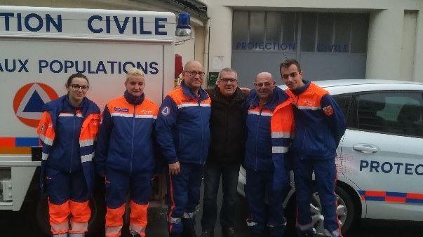 L'équipe de la Protection civile 24 doit rester sur place au moins jusqu'à dimanche.