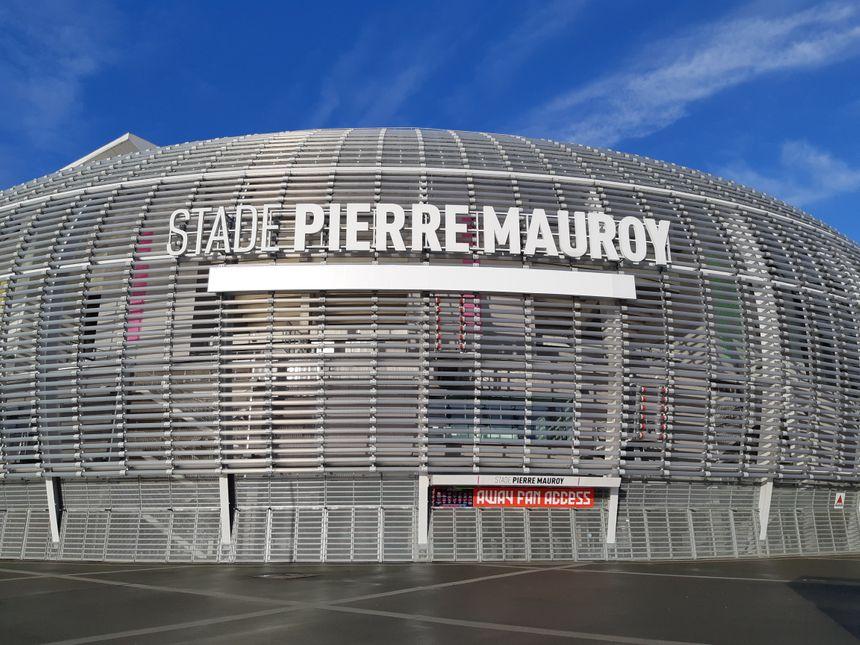 Le stade Pierre Mauroy, à Villeneuve d'Ascq
