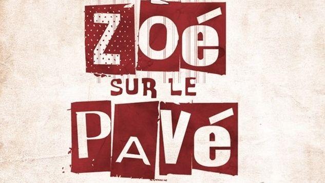 Logo Zoé Sur Le Pavé