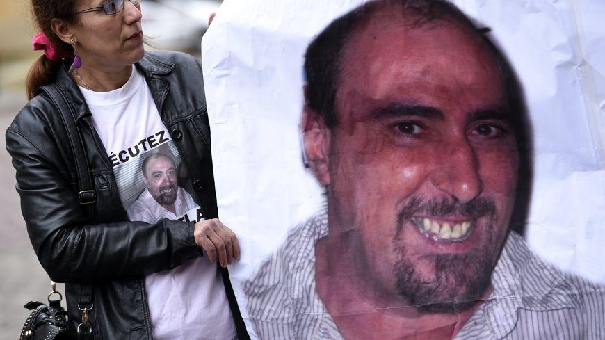 Depuis l'incarcération de Serge Atlaoui en 2005, de nombreux rassemblements ont eu lieu pour demander sa libération (ici à Metz, en avril 2015)