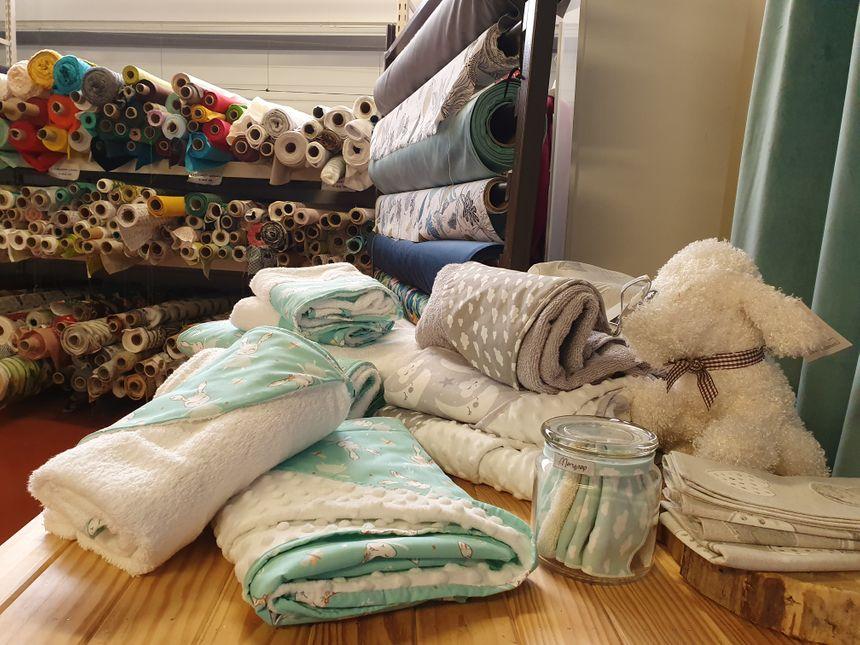 Marynap a réussi sa mue, notamment grâce à la fabrication d'accessoires pour bébés (serviettes, peluches, etc)