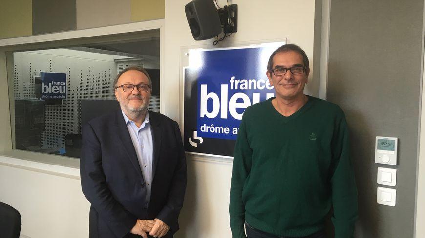 avec Didier Rasclard et Philippe Brousse, Directeur et Directeur adjoint de Cap Emploi Ardèche Drôme