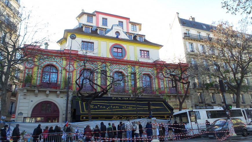 Le Bataclan à Paris, où 90 personnes ont été tuées le 13 novembre 2015