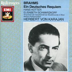Ein deutsches Requiem op 45 : Wie lieblich sind deine Wohnungen - pour soprano baryton choeur et orchestre - ELISABETH SCHWARZKOPF
