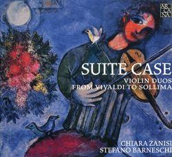 Suite case : 1. Wood - pour 2 violons et voix - CHIARA ZANISI