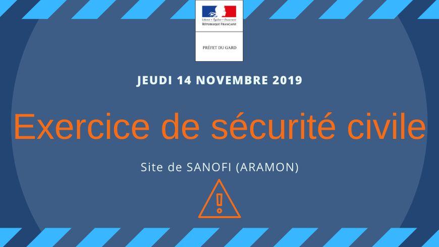 Exercice de sécurité civile à Aramon - France Bleu