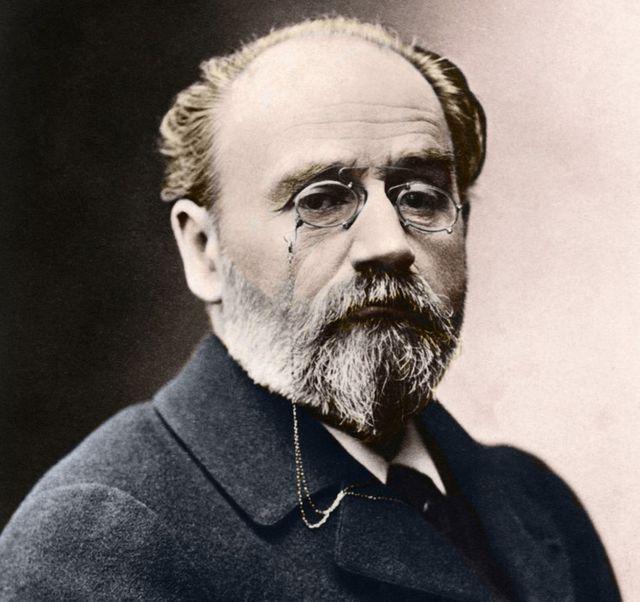Portrait de l'écrivain et journaliste Emile Zola