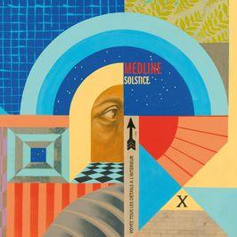 """Pochette de l'album """"Solstice"""" par Medline"""