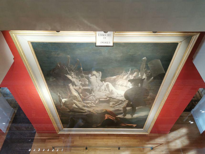 """""""Le songe d'Ossian"""" d'Ingres est désormais visible sur deux étages"""