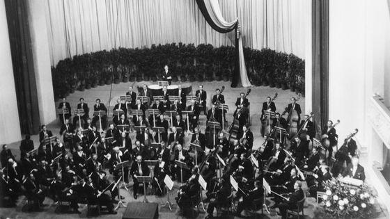 Réouverture du Berlin State Opera (Berlin Est) par la Staatskapelle Berlin le 4 sept 1955