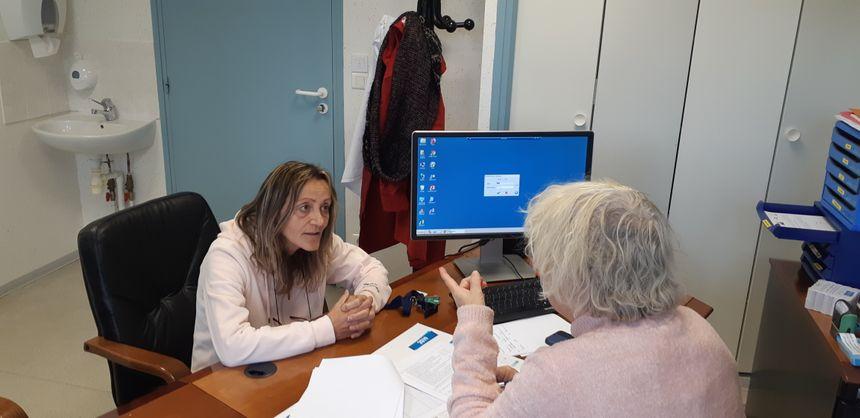 Jeannine 60 ans vient d'intégrer le centre anti-tabac d'Antrenas en Lozère