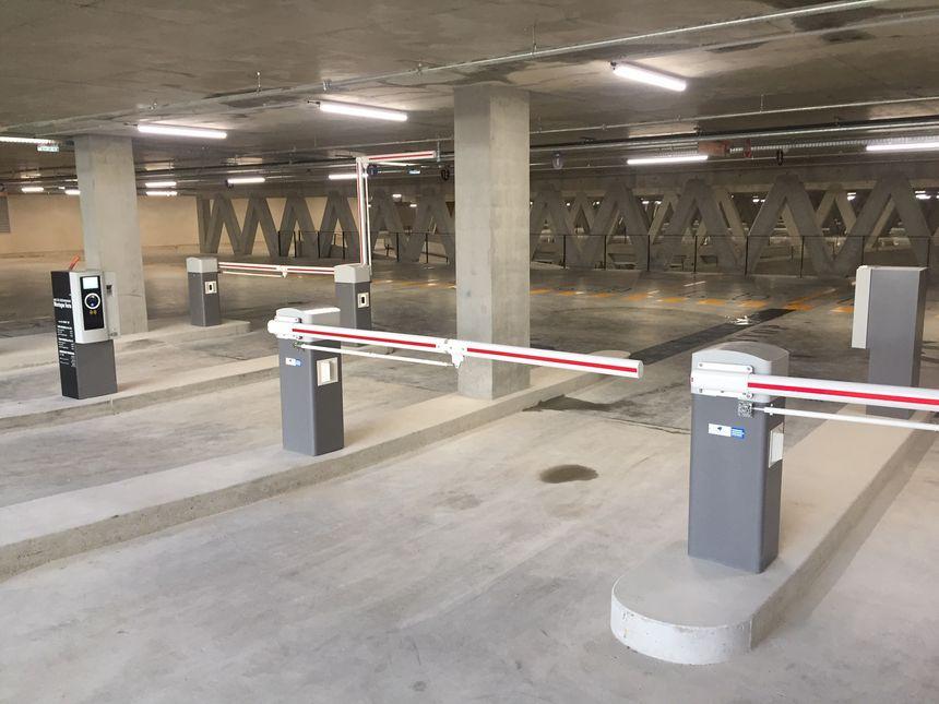 C'est le 6e parc de stationnement sur Colmar