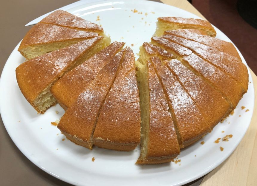 Le gâteau au vin blanc de Catherine, notre auditrice de Saint-Perdon