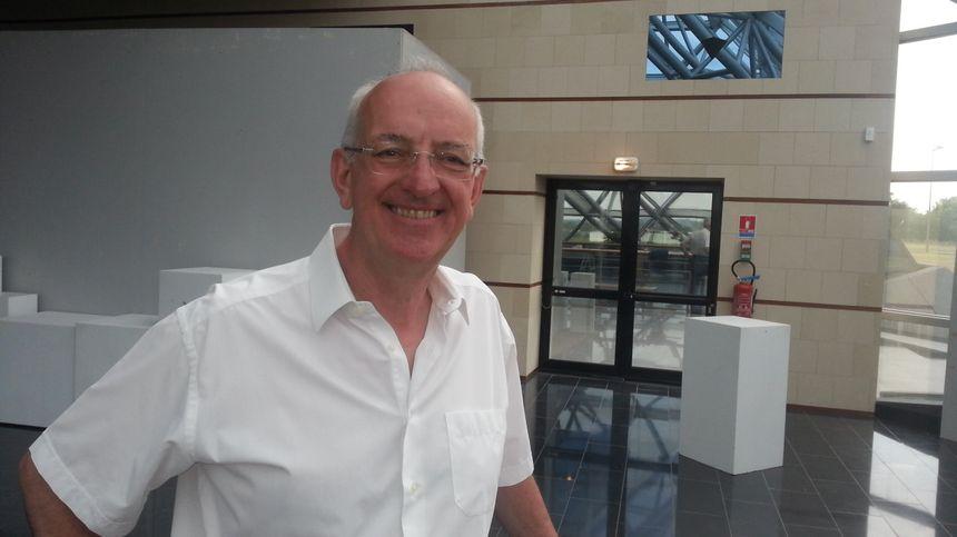 Thierry Vinçon, maire (LR) de St-Amand-Montrond (Cher)