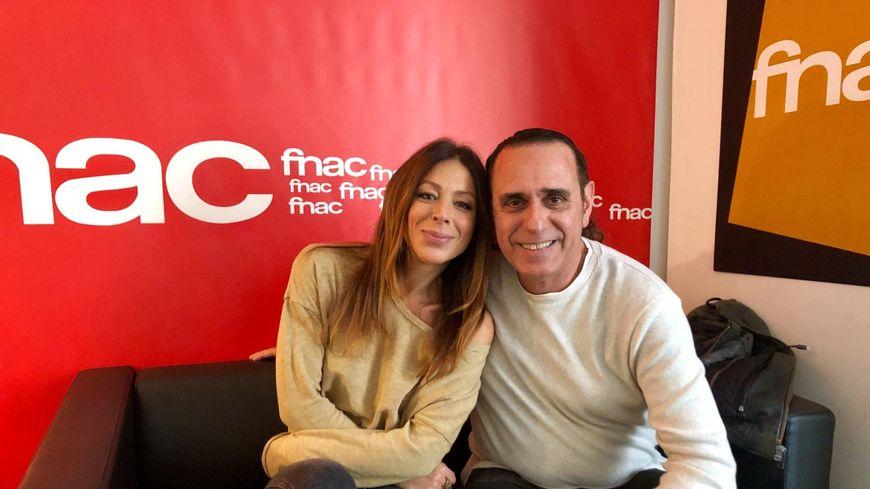 La chanteuse Rose et Adrien Mangano
