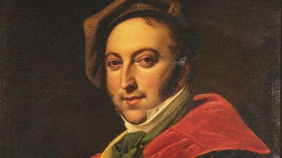 Portrait du compositeur Gioachino Rossini
