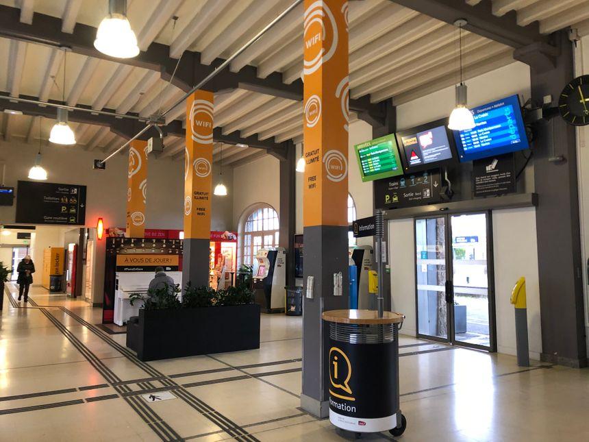 Plus de 500 000 personnes fréquentent la gare chaque année