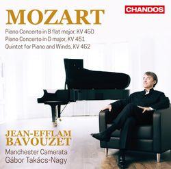 Quintette pour piano et vents en Mi bémol Maj K 452 : 3. Allegretto - JEAN-EFFLAM BAVOUZET