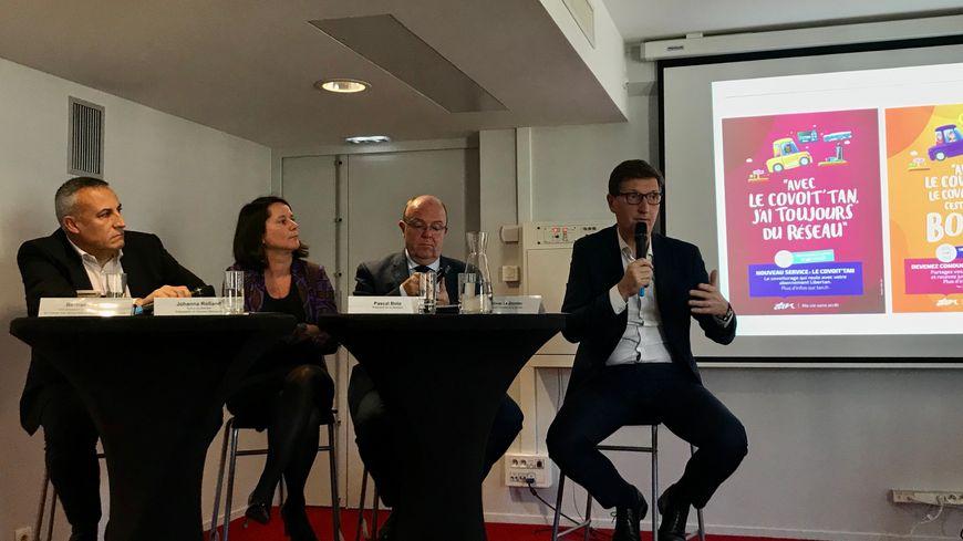 """Présentation du projet """"covoit'Tan"""" lancé par Nantes Métropole et la Semitan"""