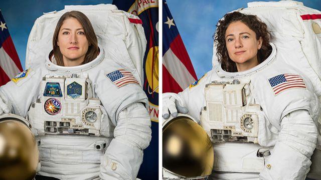 Christina Koch et Jessica Meir : le 1er binôme féminin de l'espace !