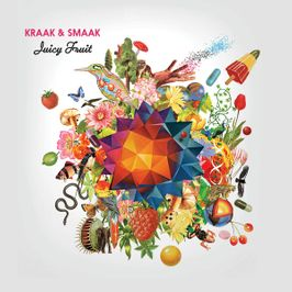 "Pochette de l'album ""Juicy fruit"" par Kraak & Smaak"